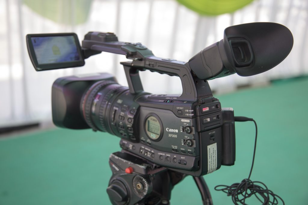 video camera, video production